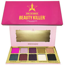 Jeffree Star Beauty Killer Eyeshadow Palette Eyeshadow Extreme Pigment 10 Shade