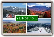 FRIDGE MAGNET - VERMONT - Large - USA America TOURIST