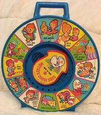 Vintage 1983 See N Say Mother Goose Nursery Rhymes Pull String Mattel Toy Works!
