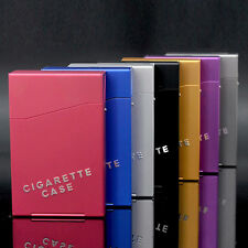 1Pc Classical Metal Aluminum Cigarette Cigar Case Pocket Box Container Storage