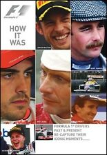 F1 HOW IT WAS DVD. 90 Mins. 10 DRIVERS, ICONIC RACE MOMENTS 1984-2011 DUKE 3727N