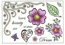 Creative Expressions desmontado Sellos De Goma-Floral A5