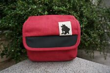 Red messenger canvas bag case for Nikon P610 P600 P530 P520 P500 L840 camera