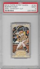 2012 Topps Gypsy Queen Mini Insert Buster Posey #182 (2010 & 2012 Giants) PSA 9