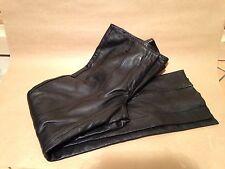 Guess Genuine Leather Women's Pants Black, Size 2 Biker/Goth/Steampunk/Punk EUC