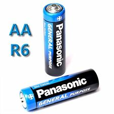 48 x Panasonic GENERAL Purpose AA Batterie Mignon 1,5V R6BE R06 R6  MHD 11/2019