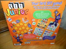 SET JUNIOR First Board GAME* Ages 3+ Preschool New