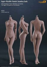 Phicen Super-Flexible Seamless MID bust body w/ Steel Skeleton Suntan 1/6 S02A