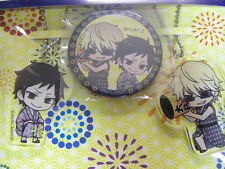 EVENT LIMITED Durarara!! x 2 Strap Can Badge SET Izaya Shizuo Japan Figure
