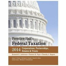 Prentice Hall's Federal Taxation 2014 Corporations,  Partnerships, Estates &
