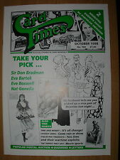 CARD TIMES MAGAZINE FORMERLY CIGARETTE CARD MONTHLY No 104 OCTOBER 1998