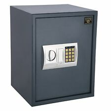 Hidden Wall-Safe Home Gun Cash Jewelry Security Lock Electronic Fire Proof Box