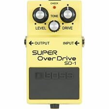 BOSS SUPER OVERDRIVE SD-1 * 808 BROWN MOD +