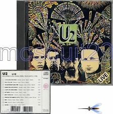 "U2 ""LIVE"" RARE CD 1991 MADE IN ITALY - SEALED"