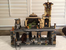 Custom LEGO Star Wars Jabba's Palace with Rancor pit