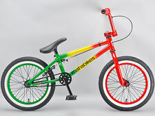 Mafiabikes BB Kush 16 inch bmx bike kids child's Mafia in Rasta  kush 2