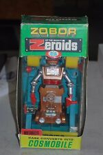 Vintage Ideal Zobor of the Mighty Zeroids Motorized Robot Toy
