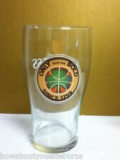 NEW Guinness beer glass imported Ireland bar glasses 1 pub pint shamrock stout