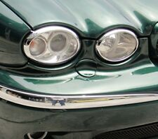 Jaguar X Type Chrome Headlight Surrounds Trim