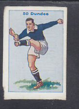 Thomson - Football Team Cards 1934 - # 50 Dundee