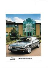 JAGUAR SOVEREIGN PRESS PHOTO 'BROCHURE CONNECTED '