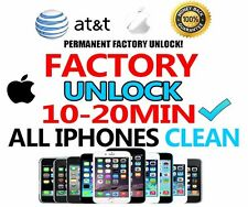 10MINS CLEAN AT&T Factory Unlock code service for iPhone 7 Plus 7 6 Plus ALL