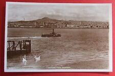 J.B.WHITE RP Postcard c.1920 DUNDEE FROM NEWPORT ANGUS SCOTLAND