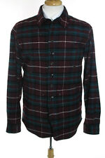 Junya Watanabe Men's Multi Color Plaid Coat Size Large New $1430 104525