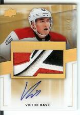 14/15 UD Premier RC Patch Autograph Gold #98 Victor Rask #01/10 8 Color Break