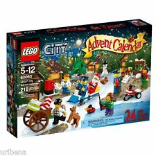 LEGO City Advent Calendar 60063 6059276 Boys Girls 5-12 Santa Christmas NEW