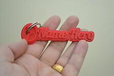 Mazda Keyring Rubber Tags Novelty Keychain 3D Name Key Fob Personalised car gift