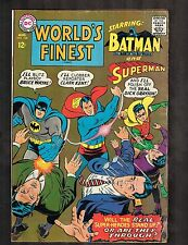 World's Finest #168 ~ Superman / Batman ~1967 (4.0) WH