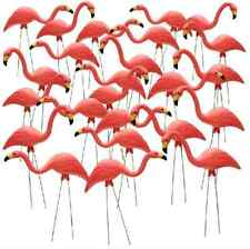 Pink Flamingo Yard Outdoor Lawn Garden Retro Art Ornaments Decoration 24 Pack