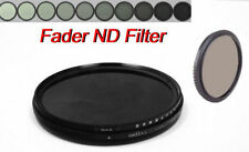 55mm Fader Neutral Density ND filter ND2-ND400 ND4 ND8 for Canon Nikon Camera