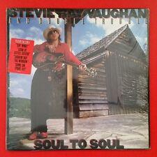 STEVIE RAY VAUGHAN Soul To Soul LP Vinyl VG++ Cover Shrink Epic FE 40036
