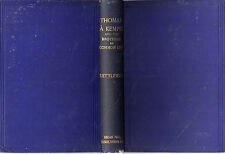 "REV. S. KETTLEWELL - ""THOMAS A KEMPIS & THE BROTHERS OF COMMON LIFE"" - HB (1885)"