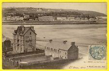 cpa Bretagne 22 - BINIC (Côtes d'Armor) Vu des DOUVES en 1904