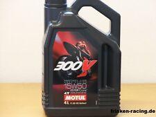 12,38€/l Motul 300V 4T Factory Line  SAE 15W-50 4 L