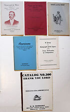 Texas, Far West, Southwest, Texana, etc., circa 1960s / 6 Auction Catalogues