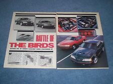 1987 Ford Thunderbird Turbo & Sport Coupe Vintage Info Article T-Bird