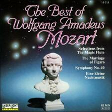 The Best Of Wolfgang Amadeus Mozart By W. A. Mozart
