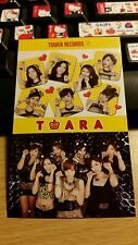 T-ara tower records japan jp official photocard kpop k-pop shipped in toploader