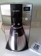 Mr. Coffee Optimal Brew 10-Cup Thermal Black Stainless Coffeemaker
