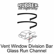1968 Chevy Chevelle Oldsmobile Cutlass Vent Window Division Glass Run Channel
