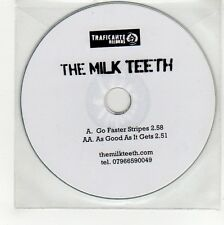 (GG89) The Milk Teeth, Go Faster Stripes - DJ CD