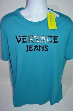 VERSACE JEANS Man's Graphic Star Logo T-shirt NEW  Size 56  XX-Large Retail $125