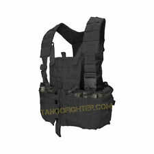 CONDOR CS MOLLE Chest Rig Vest w/6 Built in 5.56 mm Mag & Hydration Pouch BLACK