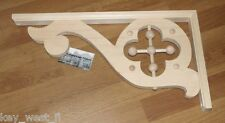 """Victorian Wood Gingerbread { 22"""" x 11"""" } Porch & House Trim Bracket #32 ~ by PLD"""