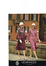 PUBLICITE  1976   GIOVANNOZZI  haute couture