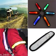 Outdoor Sports LED Safety Reflective Belt Strap Arm Band Night Cycling Running